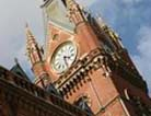 St. Pancras: trains, tea and shopping