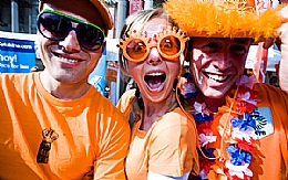Go Dutch in Trafalgar Square