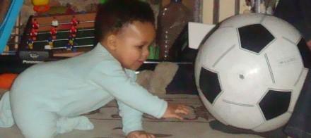Just kicking it: Toddler Soccer