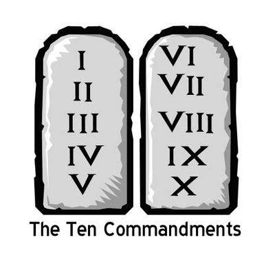 10 Blogging Commandments from Cybermummy