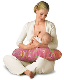 Breast feeding? Get a Boppy!