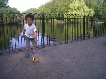 Family fun at Finsbury Park