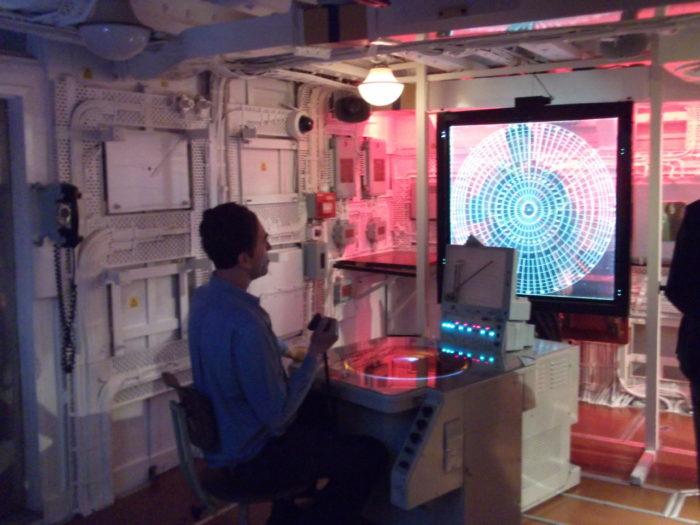 HMS Belfast operations room
