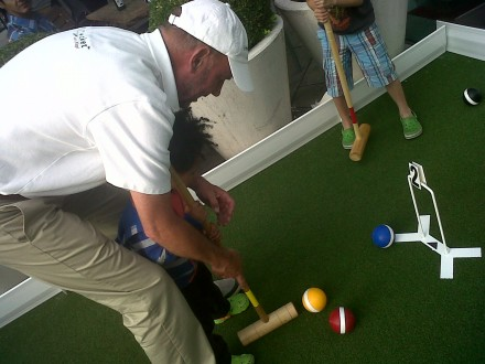 Croquet, South Bank and my Dad