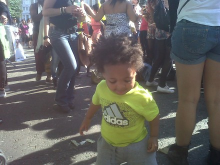 Taking the Kids to Notting Hill Carnival