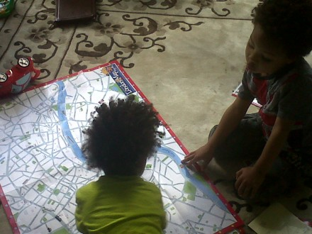 Create your Own London Map for Kids