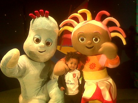 In the Night Garden Live meet the characters