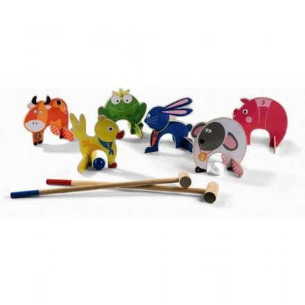 POW! A Croquet Game for Little Hands