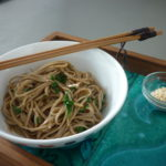 Foodie Friday: Spinach Soba Noodles (Guest Recipe)