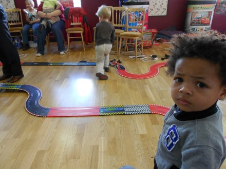 Full Speed Ahead with Scalextric Start