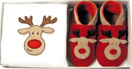 Inch Blue Handmade Baby Shoes (12 Days of Xmas Giveaways)