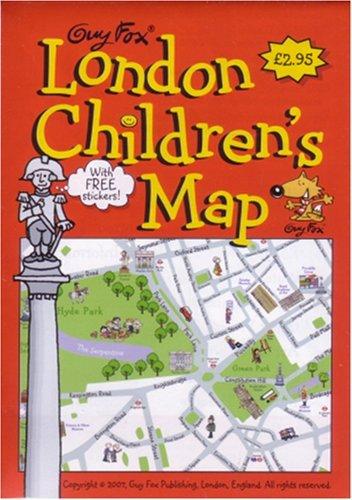 Guy Fox London Kids Maps (12 Days of Xmas Giveaways)