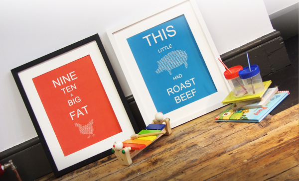 POW! Tinker Tailor Nursery Prints
