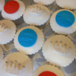 POW! Diamond Jubilee Cupcakes from Dorothy & Theodore