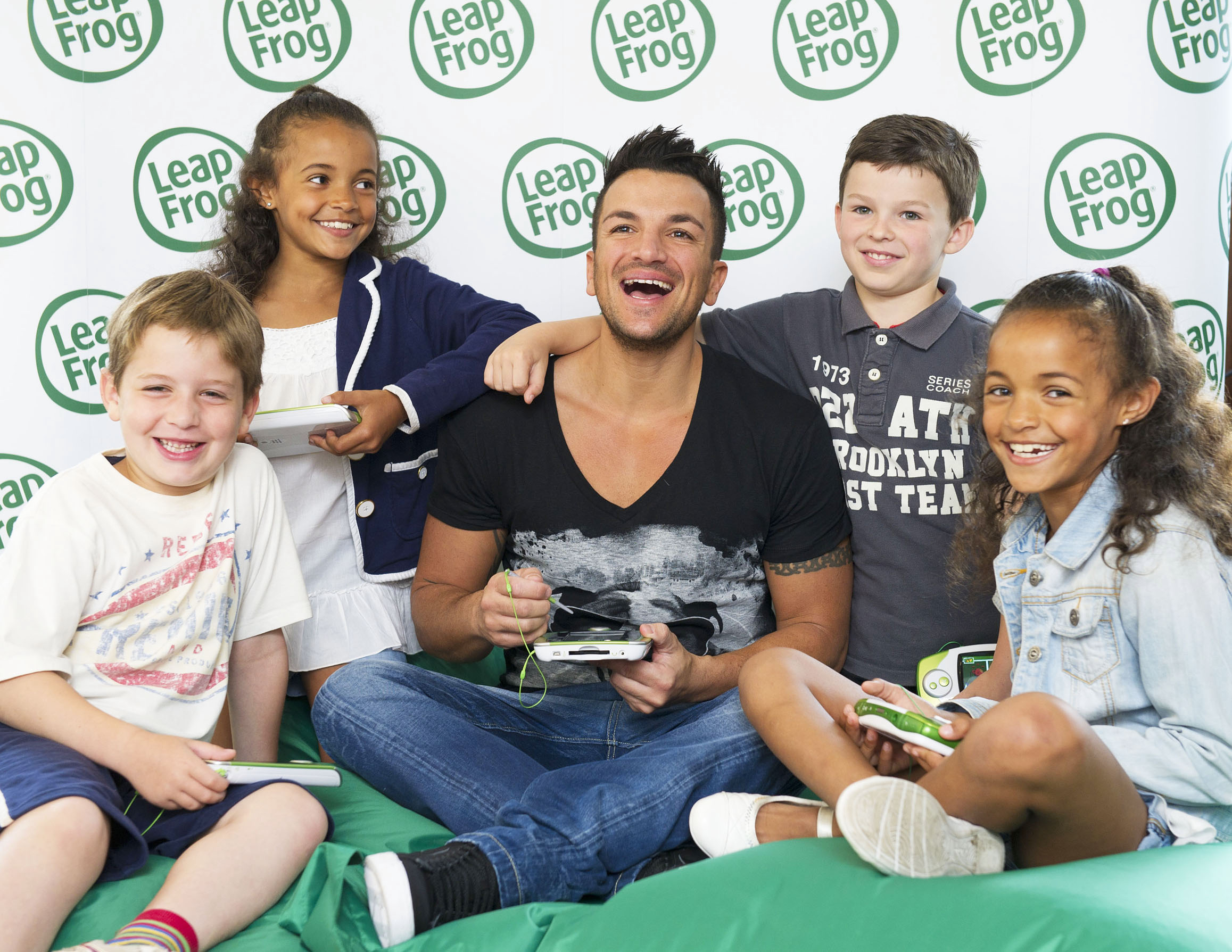 Peter Andre LeapPad2