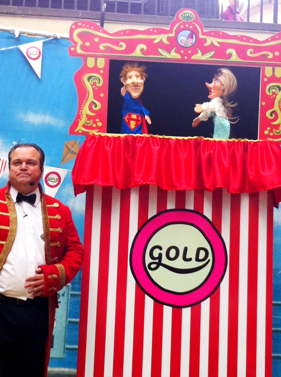 Shaun Williamson in Punch and Judy 2012