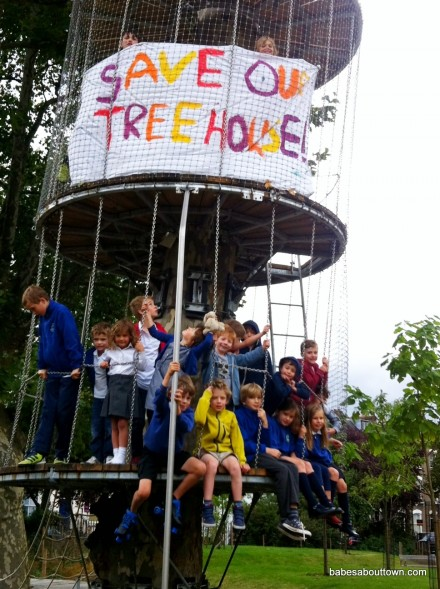 Arundel Square Treehouse petition