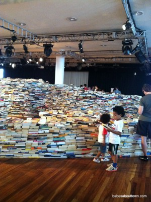 aMAZEme Book Maze at Royal Festival Hall