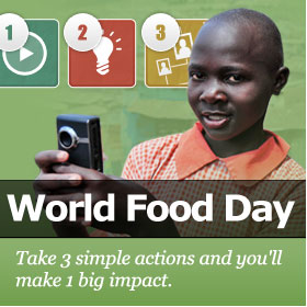 Molly's World Campaign for WFP World Food Day