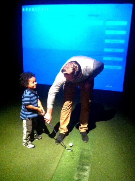 Urban Golf Kensington: Tee Time for London Families