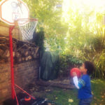 Bee-Ball Basketball Hoop for Little Players