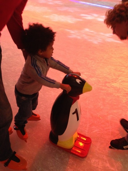 Babes of Glory: Ice Skating and 4D Santa at Westfield London!