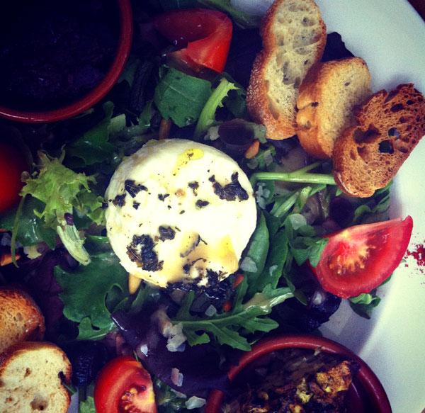 Love Learn Cook salad