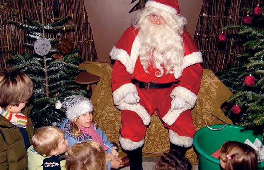 Santa at Kew Gardens