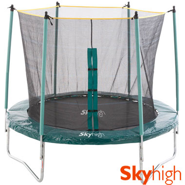 Win a 10ft Sky High Trampoline and Safety Enclosure (12 Days of Xmas 2012)!