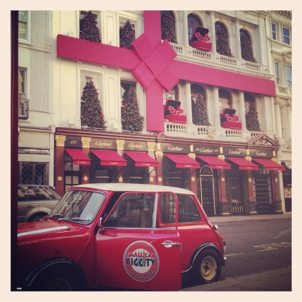 Win an Italian Job Mini Cooper Tour of London (12 Days of Xmas 2012)