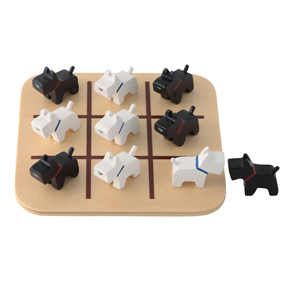 Scottie dog noughts and crosses
