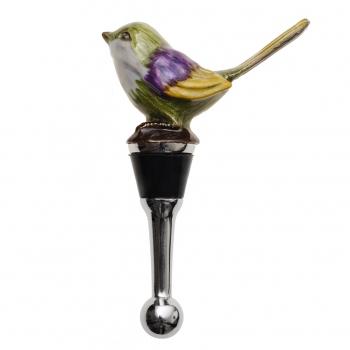 Oliver Bonas bird bottle stopper