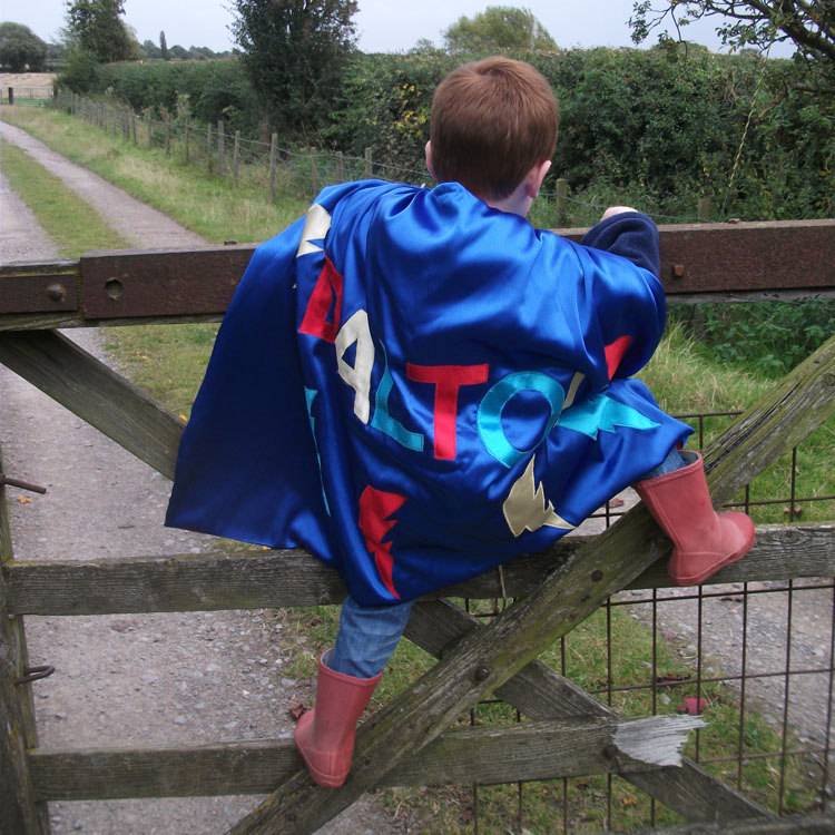 Personalised Superhero cape