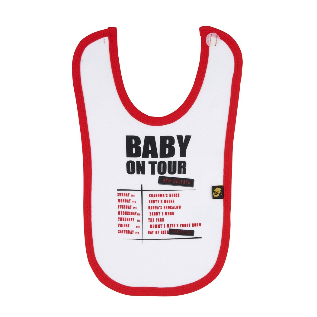 Baby on Tour bib