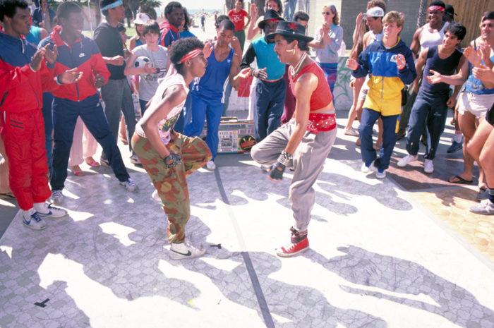 Breakdance dance scene