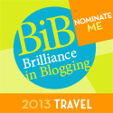 Brilliance in Blogging Awards 2013: Vote for Babes about Town!