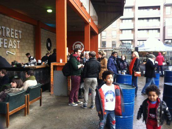 Street Feast at Merchant Yard Haggerston