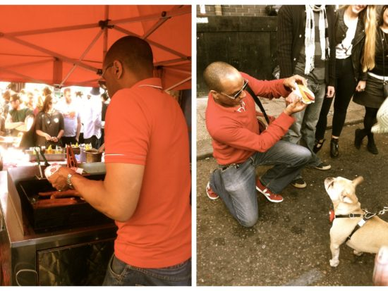 Big Apple Hot Dogs at Star of Bethnal Green Street Party