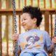 Forest Holidays playground swing