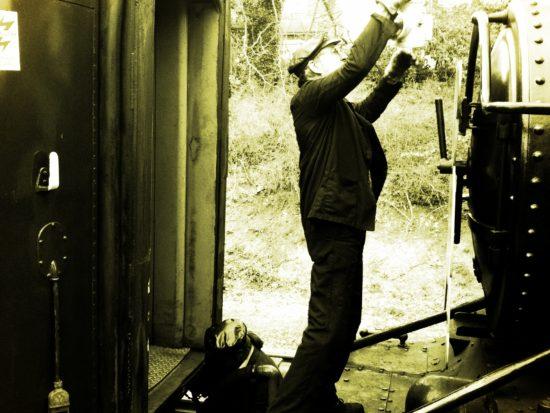 Epping Ongar railway steam train