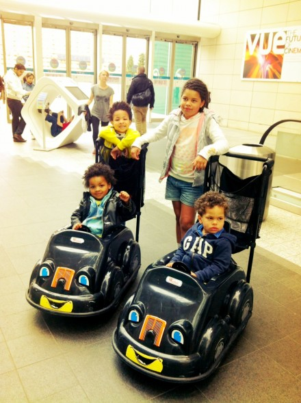 Kiddy Cars at Westfield London
