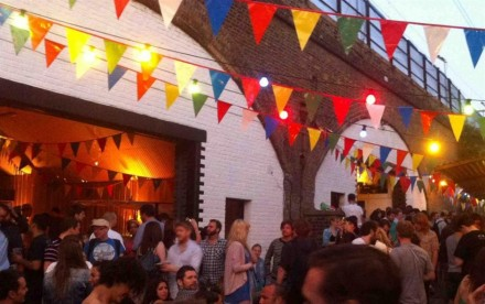 Backyard Cinema at London Fields Brewery