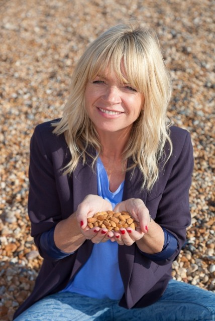 Zoe Ball snack happy almonds