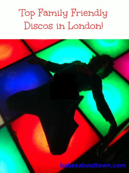 Disco Baby! Go Dancing with Kids in London