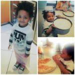 Making Pizzas + New Kids Menu at Pizza Express!