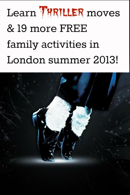 Top 20 FREE Family Activities in London Summer 2013
