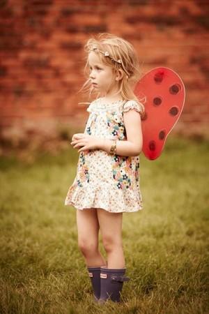 Just So Festival butterfly girl