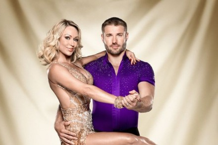 Ben Cohen and Kristina Rihanoff on Strictly Come Dancing