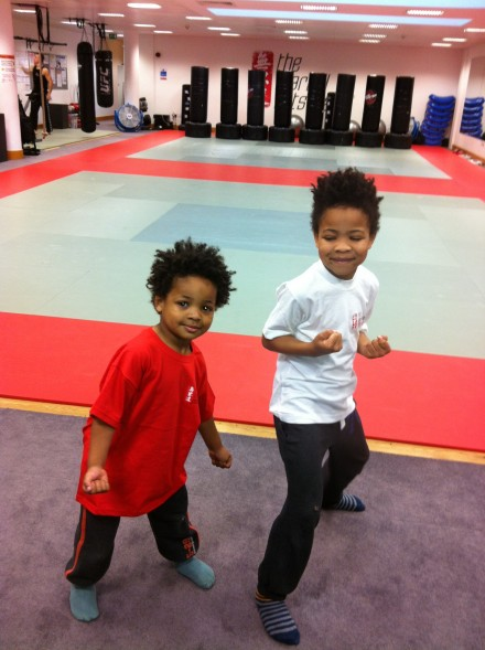Kids Kickboxing at The Martial Arts Place!
