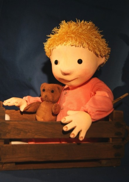We're Going on a Bear Hunt with Little Angel Theatre puppets